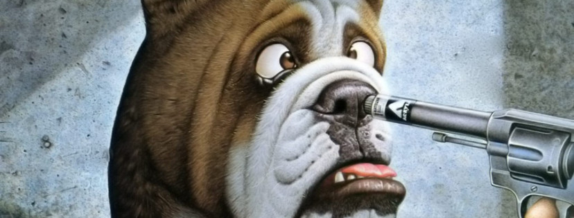 funny animated dogs HD wallpaper