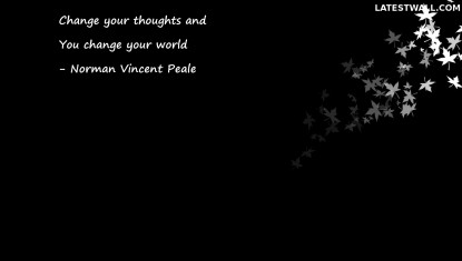 Change your thoughts and