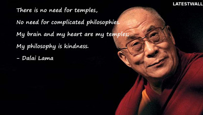 There is no need for temples