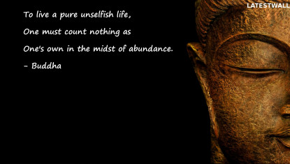 To live a pure unselfish life