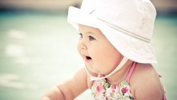 cute baby with hat 26