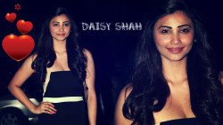 Daisy Shah In Black