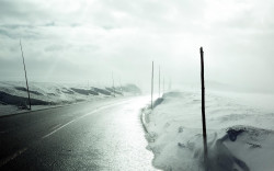 lonely awesome road wallpaper