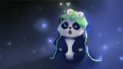 Panda Cartoon HD Wallpaper