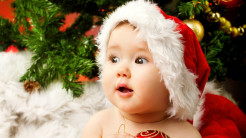 cute adorable baby santa 36