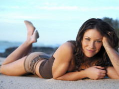 Evangeline Lilly hot Wallpaper widescreen