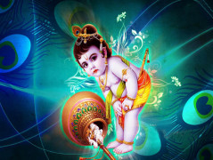 little krishna cute images free download
