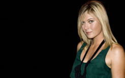 Maria Sharapova Green Top