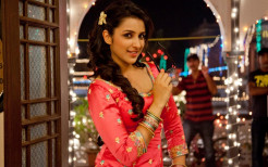 Parineeti Chopra in Red Dress
