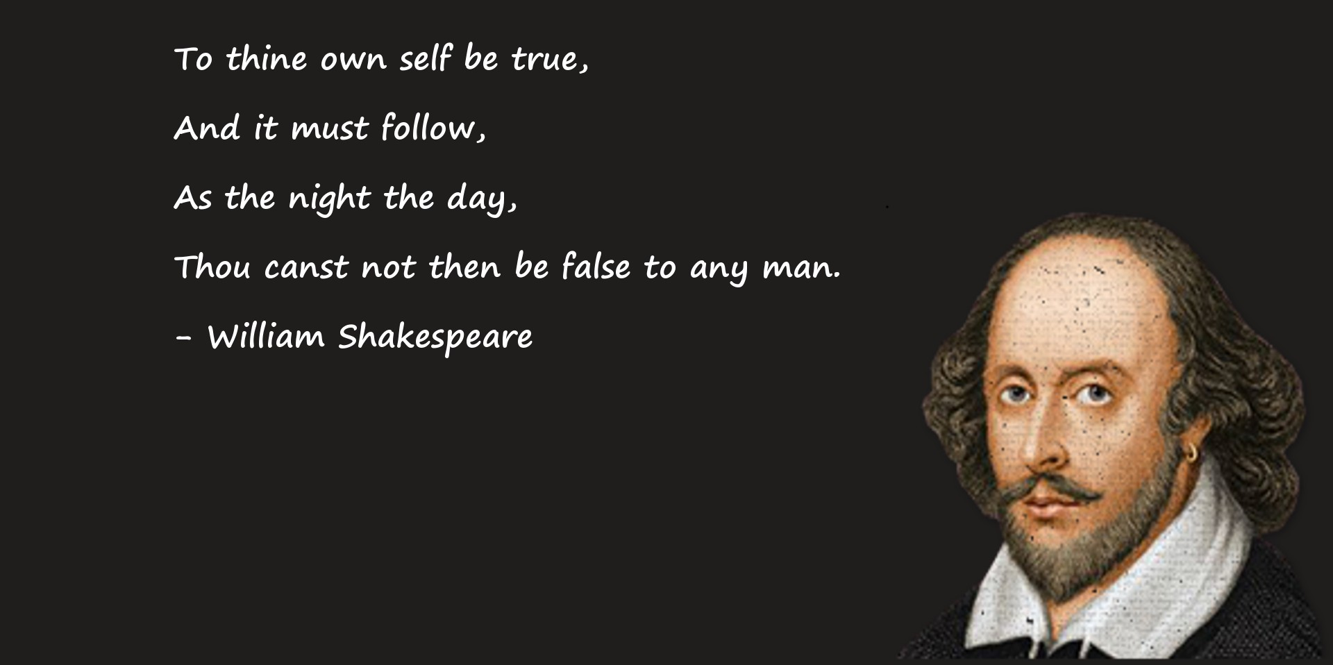 to thine own seif be true What did shakespeare mean by to thine own self be true shmoop explains in twenty-first century english.