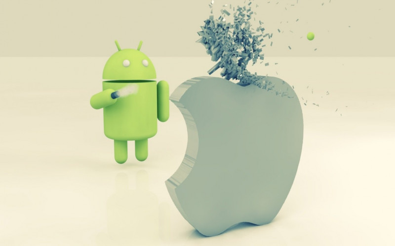 android apple wallpaper