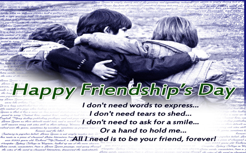 happy friendship day wallpapers of best friends