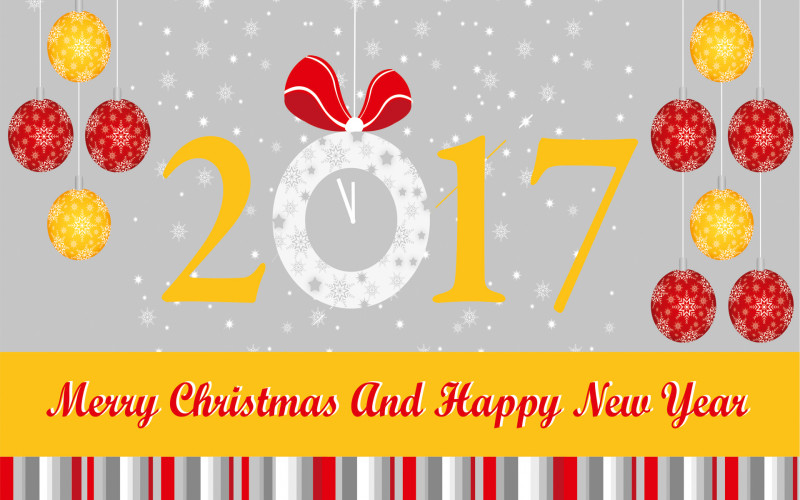 Happy New Year Chrismas 2017