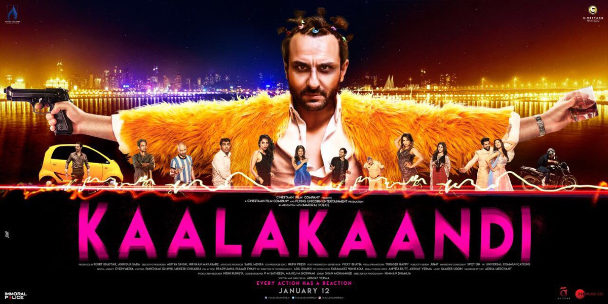 Kaalakaandi movie new poster