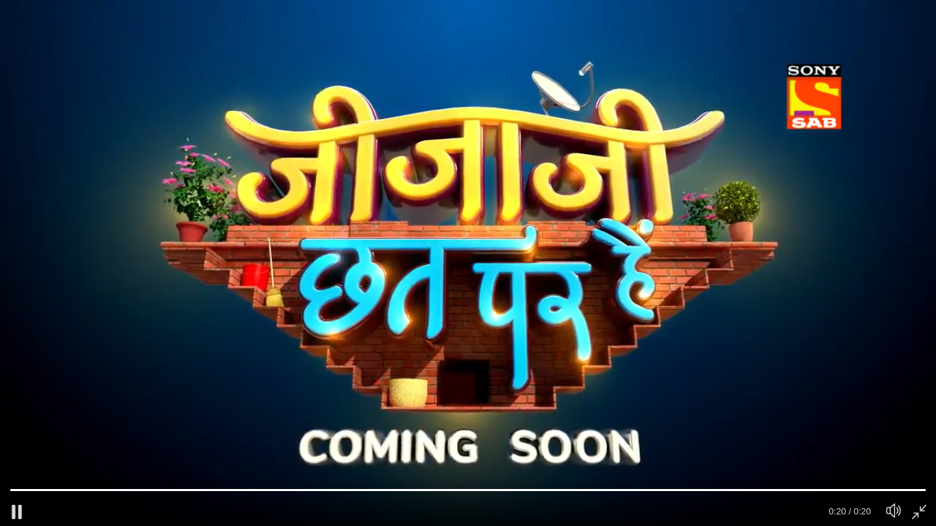 New Show Comming Soon Jijaji Chhat Per Hain jald hi only on SAB TV