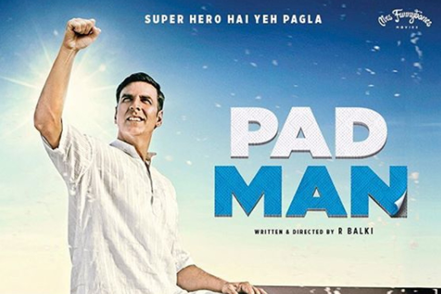 Akshay Kumar  Padman Movie New Poster